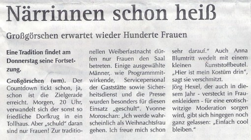 Wochenspiegel 26.02.2014