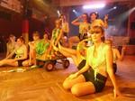 """Die """"Prinzengarde"""" tanzt zu der Musik, die bei ihrer Geburt gespielt wurde ;-)"""